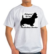 ADOPTED by Australian Terrier T-Shirt