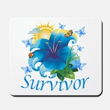 Survivor Flower Mousepad