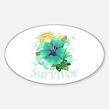Survivor Flower Decal