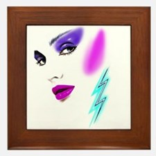 Face & Earring Framed Tile