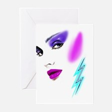 Face & Earring Greeting Cards (Pk of 10)