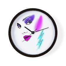 Face & Earring Wall Clock