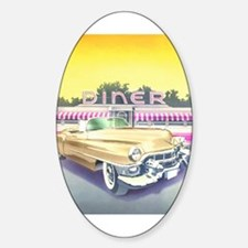 Diner Oval Decal