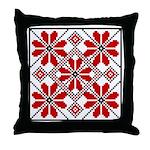 Folk Design 6 Throw Pillow