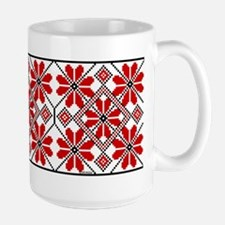 Folk Design 6 Large Mug