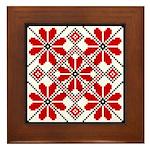 Folk Design 6 Framed Tile