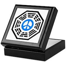 Blue Peace Keepsake Box