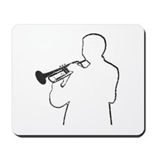 Cornet Man Mousepad