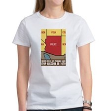 CafepressARIZONApoliceSTATEflier T-Shirt