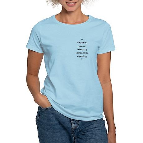 Testimonies Women's Light T-Shirt (several colors)