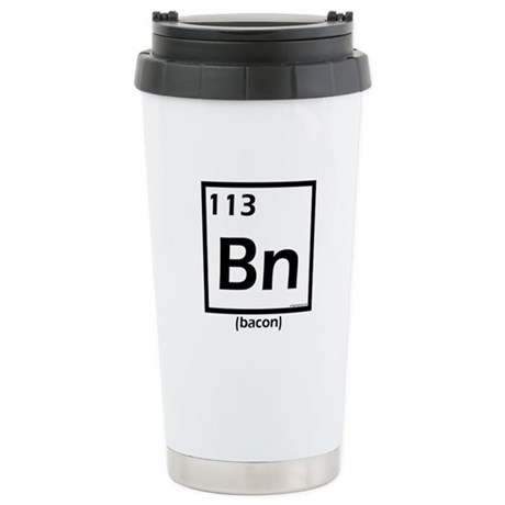 Elemental bacon Stainless Steel Travel Mug