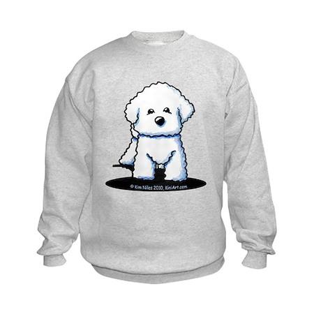 Bichon Frise II Kids Sweatshirt