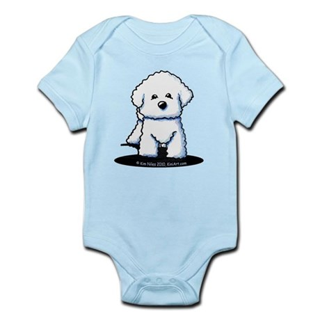 Bichon Frise II Infant Bodysuit