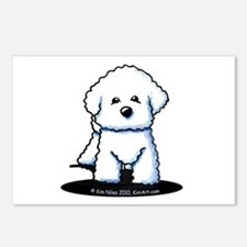 Bichon Frise II Postcards (Package of 8)