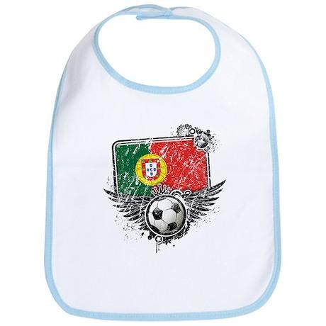 Soccer Fan Portugal Bib