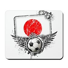 Soccer Fan Japan Mousepad