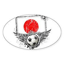 Soccer Fan Japan Decal