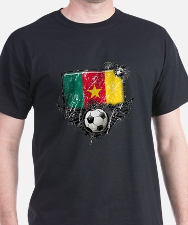 Soccer Fan Cameroon T-Shirt