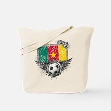 Soccer Fan Cameroon Tote Bag