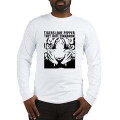 Tigers Love Pepper Long Sleeve T-Shirt