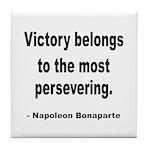 Napoleon on Victory Tile Coaster