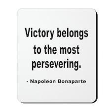 Napoleon on Victory Mousepad