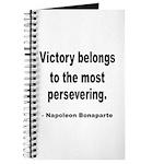 Napoleon on Victory Journal