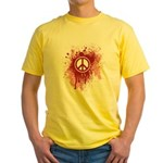 Bloody Peace Yellow T-Shirt