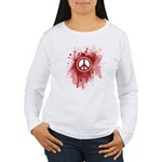 Bloody Peace Women's Long Sleeve T-Shirt
