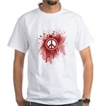Bloody Peace White T-Shirt