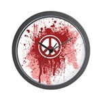 Bloody Peace Wall Clock