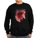 Bloody Peace Sweatshirt (dark)