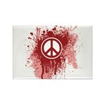 Bloody Peace Rectangle Magnet