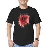 Bloody Peace Men's Fitted T-Shirt (dark)