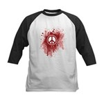 Bloody Peace Kids Baseball Jersey