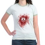 Bloody Peace Jr. Ringer T-Shirt