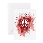 Bloody Peace Greeting Cards (Pk of 20)