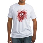 Bloody Peace Fitted T-Shirt