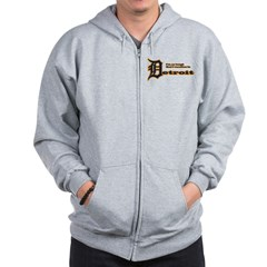 I Vacation In Detroit Zip Hoodie