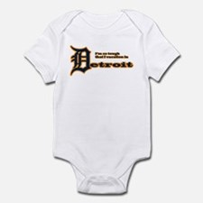 I Vacation In Detroit Infant Bodysuit