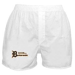 I Vacation In Detroit Boxer Shorts
