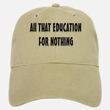 Education Baseball Baseball Cap