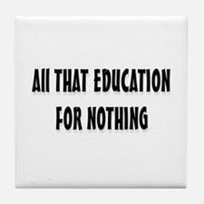 Education  Tile Coaster