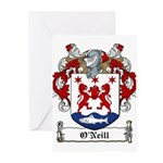 O'Neill Family Crest Greeting Cards (Pk of 10)