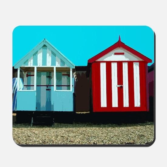 Beach Hut 1 Mousepad