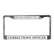 Proud Parent: Cop License Plate Frame