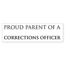 Proud Parent: Cop Bumper Bumper Sticker
