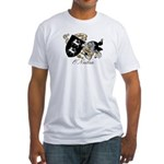 O'Neilan Family Crest Fitted T-Shirt