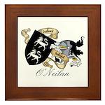 O'Neilan Family Crest Framed Tile