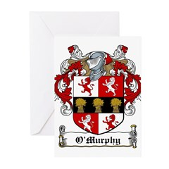 O'Murphy Coat of Arms Greeting Cards (Pk of 10